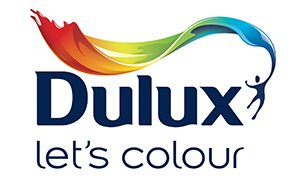 "Dulux ""Let's Colour"" logo"