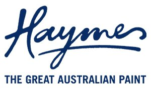 "Haymes ""The Great Australian Paint"" logo"