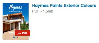 Haymes Paint Exterior Colours PDF