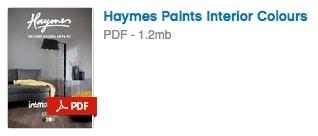 Haymes Paint Interior Colours PDF