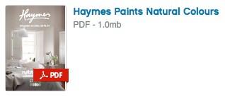 Haymes Paint Natural Colours PDF