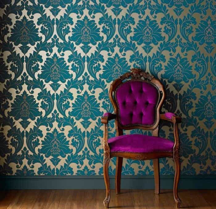 Change the look and feel of a room with elegant and bright wallpapers!