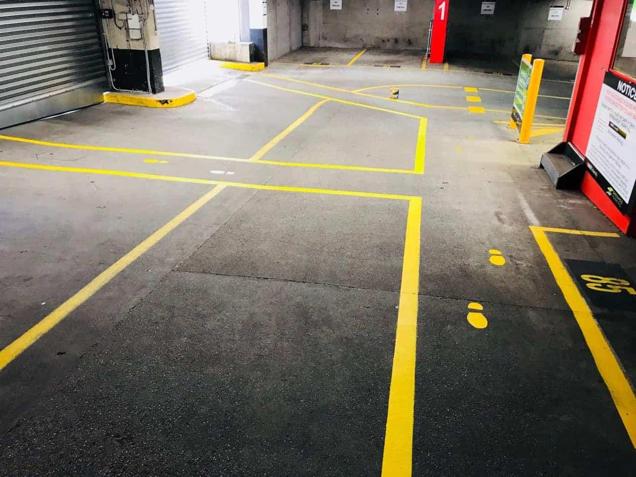 Carpark linemarking pic3