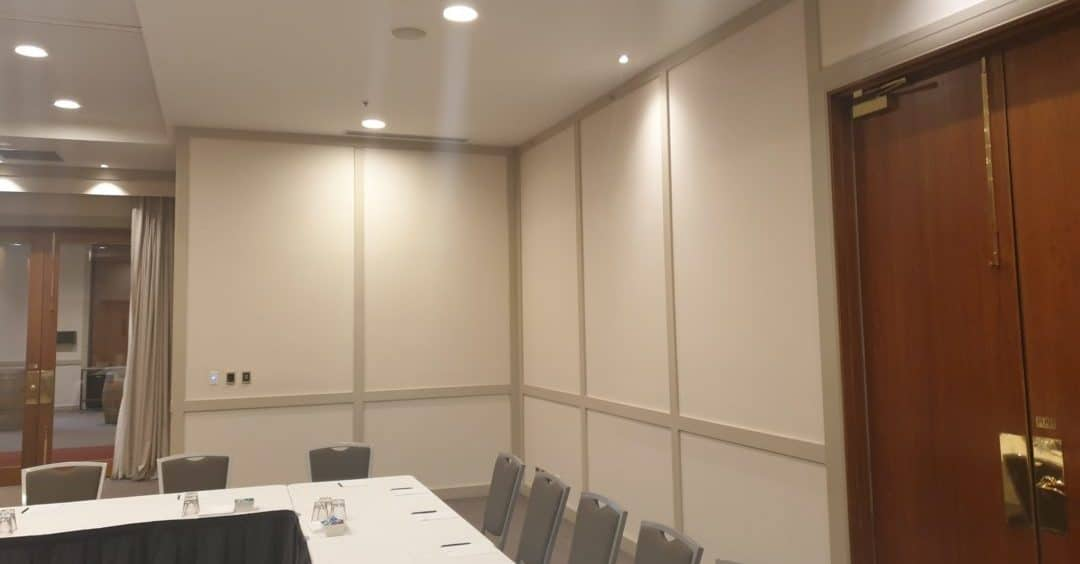 Interior painting of conference room