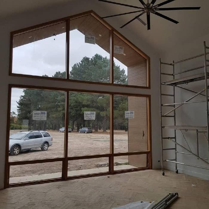 painting wooden window sills